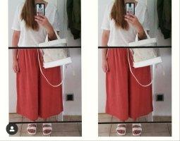 24 colours Pantalon en jersey orange-rouge brique