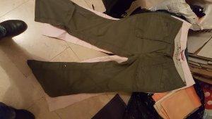 Esprit Pantalone a zampa d'elefante verde scuro