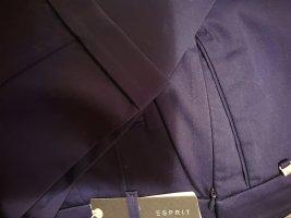 Esprit Spodnie materiałowe ciemnoniebieski