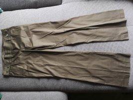 Hugo Boss Spodnie rurki ochra