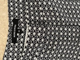 More & More Jersey Pants black-white