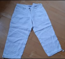 Blind Date Pantalone a 3/4 bianco