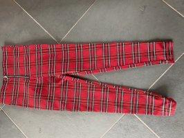 Zara Legging rouge-noir