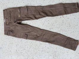 Toxik3 Spodnie khaki zielono-szary