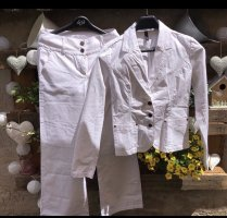 Trouser Suit natural white