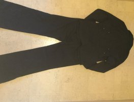 Sir Oliver Trouser Suit light blue-black cotton