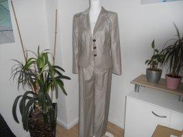 Laurèl Trouser Suit beige viscose