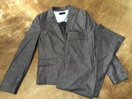 Esprit Tailleur-pantalon brun-rouge mûre