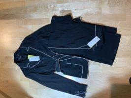 KAREN MILLEN Trouser Suit black-white