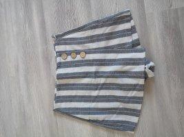 Pull & Bear Skort blanc cassé-gris ardoise