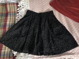 Benetton Falda pantalón negro-gris antracita