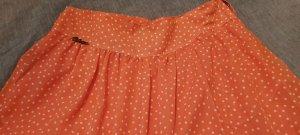 Falda pantalón naranja oscuro-salmón