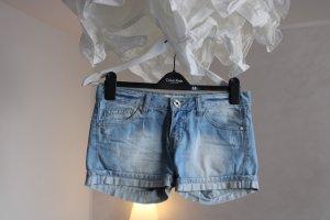 Hot Pants jeans Shorts blau kurze Hose 34 XS