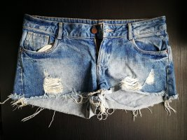 Hot Pants kurze Jeans destroyed