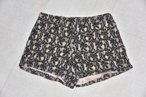 Alice + Olivia Shorts dusky pink-black mixture fibre