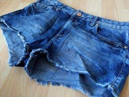 Hot Pants mit schöner Waschung