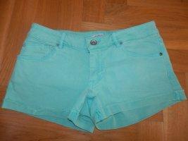 Hot Pants türkis Pull&Bear Gr36
