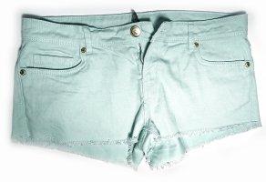 Hot Pants von Denim Co. in Mintgrün