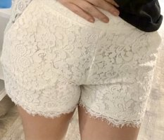 Amisu High-Waist-Shorts multicolored