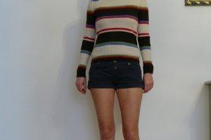 Zara Denim Shorts dark blue
