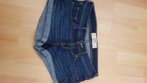 Hollister Hot pants donkerblauw