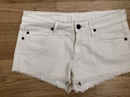 Hotpants in beige