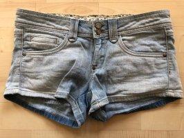Hotpants Jeans hellblau Mango XS 32 Jeans Shorts