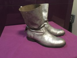 HTC Hollywood Trading Company Stiefelette Leder Silber