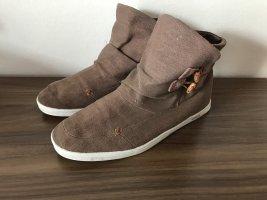HUB Stiefel Boots Gr 38 altrosa