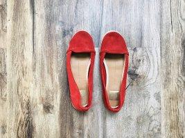Dolce Vita Mary Jane Ballerinas carmine-brick red