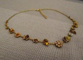 Hübsche modische, detailverliebte Kette - goldfarben