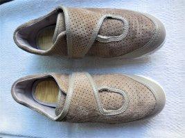 Puma Basket hook-and-loop fastener marron clair-beige cuir