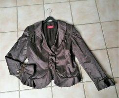 Lisa Campione Short Blazer bronze-colored polyester