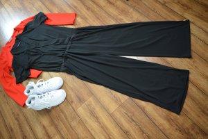 Hübscher FREEQUENT Jumpsuit schwarz Gr. 38