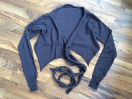 Twin set Wraparound Jacket black brown