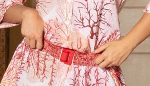 Antica Sartoria Hip Belt multicolored cotton