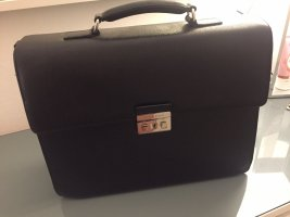 Hugo Boss Briefcase black-silver-colored