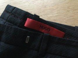 Hugo Boss Drainpipe Trousers black cotton