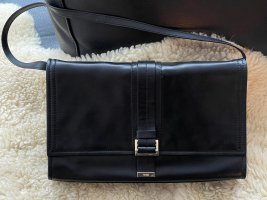 HUGO Hugo Boss Clutch black leather