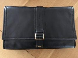 HUGO Hugo Boss Clutch black leather