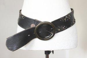 Hugo Boss Cinturón de cuero marrón oscuro Cuero