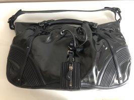 Hugo Boss Handtasche schwarz Schafleder