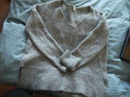 HUGO Hugo Boss Jersey de lana gris oscuro-gris lana (lana merina)