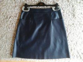 HUGO Hugo Boss Asymmetry Skirt black polyurethane