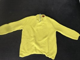 Hugo Boss Pullover, neongelb, Gr. S