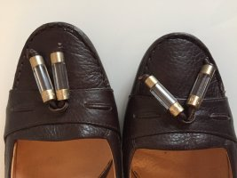 Hugo Boss Pumps Braun Leder Gr.40.5 Neuwertig Zeitloser Klassiker