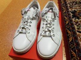 HUGO Hugo Boss Lace-Up Sneaker white
