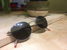 Hugo Boss Lunettes de soleil ovales noir