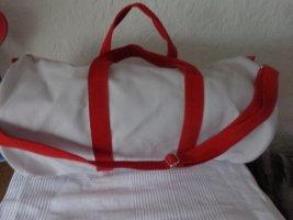 HUGO Hugo Boss Sac de sport blanc-rouge