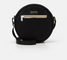 Hugo Boss Crossbody bag white-black